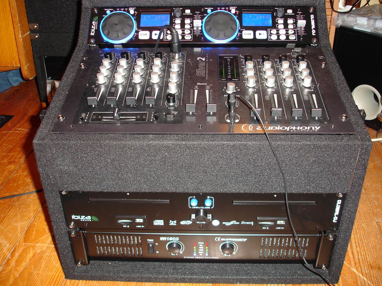 Location de mat riel de sonorisation enceintes micro - Branchement enceinte amplifiee table mixage ...
