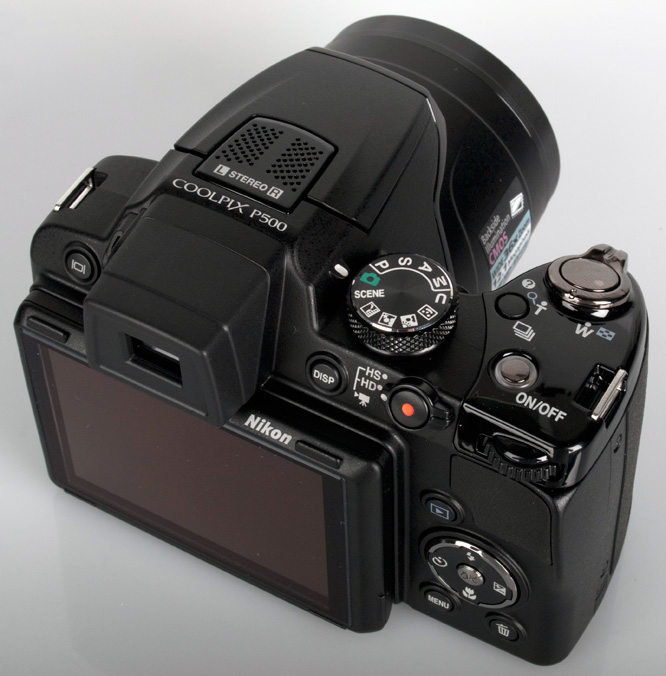 Nikon coolpix p500 top tn